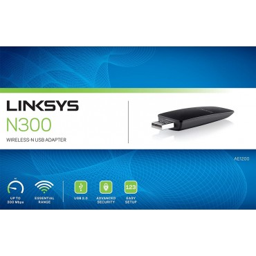 Linksys AE1200 Wireless USB...